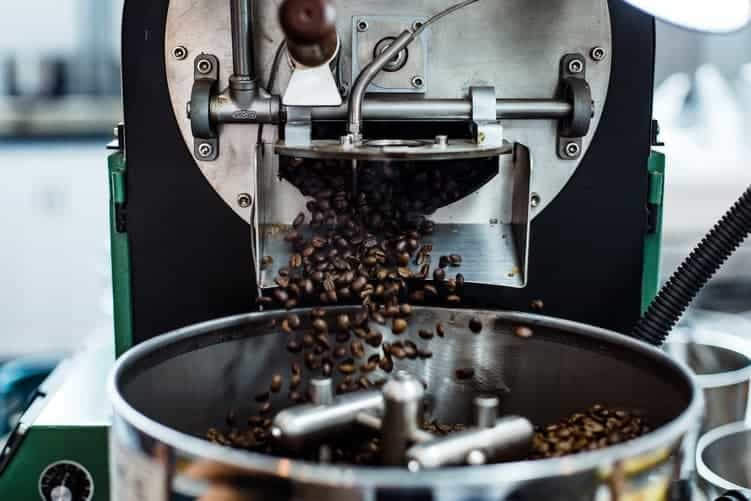 torrefazione del caffè tostatrice
